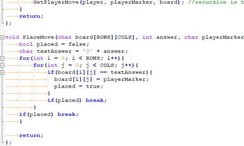 Tic Tac Toe program using arrays - Codeguru